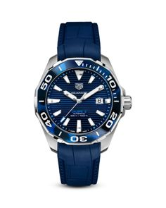 Tag Heuer Aquaracer Caliber 5 Watch, 43mm Luxury Watches, Rolex Watches, Watches For Men, Silver Shop, Vintage Pocket Watch, Casio G Shock, Tag Heuer, Tortoise Shell, Vintage Watches