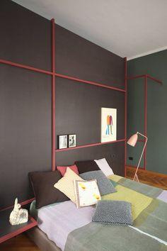 Gioco di quadrati da mettere sul soffitto per le luci  // Metaphysical Remix by UdA Architetti. Photo: Carola Ripamonti