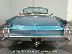 1962 cadillac 62.  So pointy.  I am totally in love with the tail lights
