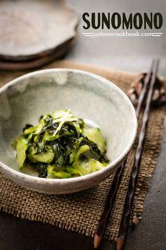 Sunomono (Cucumber Salad) 酢の物 | Easy Japanese Recipes at JustOneCookbook.com