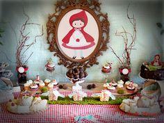 Perfect Home: Festa de aniversário: Capuchinho Vermelho    Birthday party theme…
