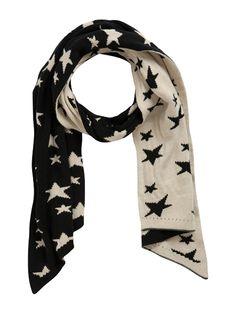 Mix N Match Black N white Stars Scarfs  www.premiumtowelexportindia.com