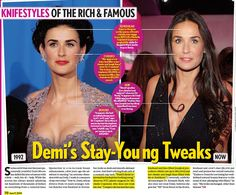 Demi's Stay Young Tweaks  Life & Style, December 31, 2069  Dr. Copeland on how Demi Moore stays young