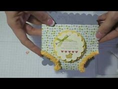 This is so easy to make. It is a perfectly precious Baby Shower invitation. To purchase any of the products used in this video, go to my online Stampin' Up! store at www.cortneyk.stampinup.net