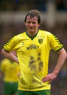 Portrait of Mick Channon of Norwich City during the Milk Cup final against Sunderland at Wembley Stadium in London. Norwich won the match \ Mandatory Credit: David Cannon/Allsport Get premium, high resolution news photos at Getty Images Retro Football, Football Shirts, Norwich City Fc, Southampton Football, Laws Of The Game, Football Images, Association Football, Most Popular Sports, Sunderland