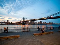 Ten things to try in Dumbo, Brooklyn's oft-ignored waterfront neighborhood.