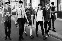 male model street style http://fashiongrunge.com/2013/10/07/menswear-monday-male-models-off-duty/