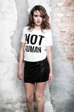 NOT HUMAN #behyped www.behyped.pl