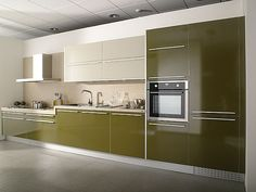 contemporary-lime-kitchen