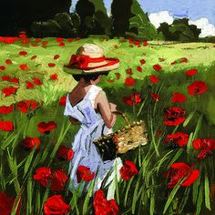 Field of Dreams I by Sherree Valentine Daines