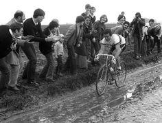 Parigi-Roubaix 1981, 12 aprile. Bernard Hinault (1954)