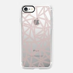 Abstract New Rose Gold Transparent -  #casetifyiphone7 #iphone7 #geometric #abstract #phonecase