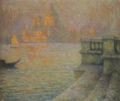 Henri Le Sidaner. Venice in the Afternoon, 1918: Франция.