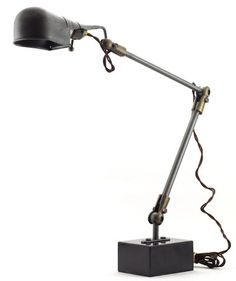 Articulating task lamp.  Vintage style.  Go to work, project friendly.