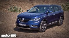 The SUV that grew up and got serious. It's basically a Nissan X-Trail in a French frock! Meet the 2017 Renault Koleos
