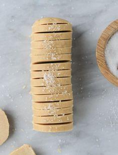 salted peanut butter shortbread I http://howsweeteats.com