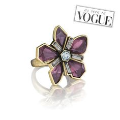 Limited Edition re-release! Love this ring! Papillon Nocturne Statement Ring https://www.chloeandisabel.com/boutique/lizwright#30647