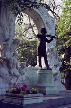 Johann Strauss im Stadtpark, Vienna, Austria