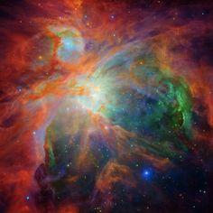 Rainbow of the Orion Nebula