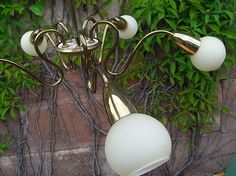 XXL Sputnik Lampe 107 Cm Leuchte 16 Arme Lamp Deckenlampe Mid Century 50er 50s