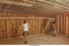 The Passive House Build, Part 4: Framing for Efficiency Double-stud walls & trusses create ideal shell for an economical & efficient building.