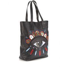Leather Shopper - Kenzo ♦ mytheresa