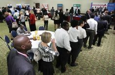 How to Behave at a Job Fair