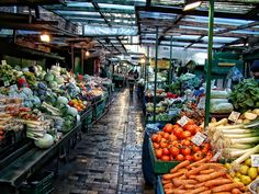 Fruit market, Gdynia, Poland by Renato Cortes, via Poland History, Golden Life, Market Value, World Market, Historical Pictures, Warsaw, Homeland, Places To See, Watercolor Art