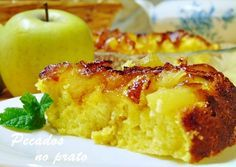Receitas de pecados no prato: Bolo de maçã de frigideira