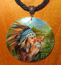 There are ways to use the Fox's charms however without ploys. To quote Antoine de Saint Exupery If you were born with a Fox Totem Animal you have an uncanny knack for awareness. Fox Totem, Native American Girls, Painted Shells, Animal Totems, Nativity, Beaded Necklace, Princess Zelda, Pendants, Hand Painted