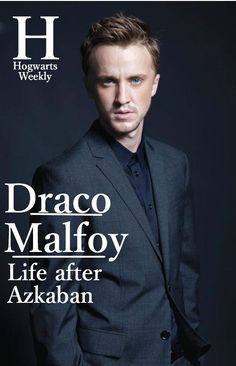 inside-the-leaky-cauldron: Hogwarts Weekly. Inside the Big Seven. (Click through for more covers) #Draco #HogwartsWeekly