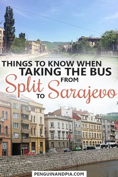 Taking the bus from Split, Croatia to Sarajevo, the capital of Bosnia & Herzegovina, is not too difficult. We share our experience, including duration and border crossings so you know what to expect! #travelbybus #split #sarajevo #balkans #transportation #bordercrossing #europetravel