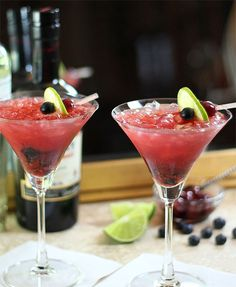 Tequila Smash – A Tequila Cocktail and Homemade Maraschino Cherries-- you had me at tequila
