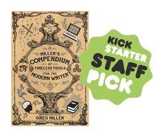 """Miller's Compendium"" writers reference book is Kickstarting now https://www.kickstarter.com/projects/1060921494/millers-compendium-a-comprehensive-writers-referen"