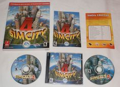 SimCity 4 PC Game Complete with Key + 368 Page Prima Official Strategy Guide
