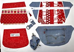 Make the Perfect Fanny Pack! - Sew Much Moore- Make the Perfect Fanny Pack! – Sew Much Moore Make the Perfect Fanny Pack! – Sew Much Moore - Purse Patterns Free, Bag Pattern Free, Bag Patterns To Sew, Simple Pattern, Sewing Patterns, Fanny Pack Pattern, Hip Purse, Diy Bags Purses, Denim Handbags