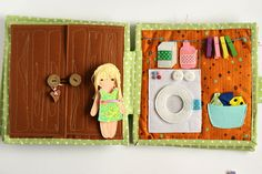 Quiet busy dollhouse