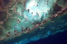 International Space Station Photos  The Florida Keys look especially vulnerable from orbit. (Photo & Caption: Chris Hadfield/NASA)