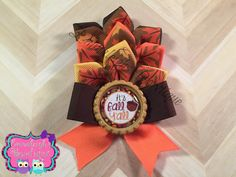 A personal favorite from my Etsy shop https://www.etsy.com/listing/253777652/its-fall-yall-hair-bow-unique-one-of-a
