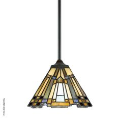 Inglenook Mini Pendant Light, from the Quoizel Tiffany collection.