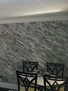Cara de la Rocca to Dining Room Walls - applicArt Polished Plaster