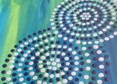 An Aboriginal styled painting! Papunya Tula Art Movement