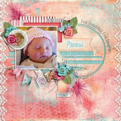 Precious Created Using Kimeric Kreations' Fearless Collection from http://www.thedigichick.com/shop/Fearless-collection.html Christaly's Lilac Breeze Templates from http://www.thedigichick.com/shop/Lilac-Breeze-Templates.html