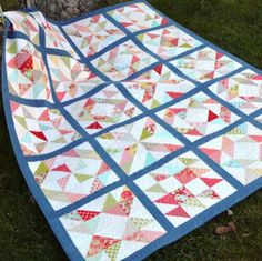 Two Summer Time Quilt Finishes