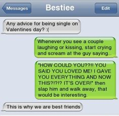 Funny Valentines day Text messages