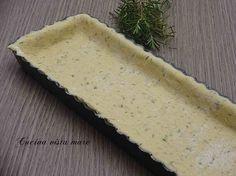 Impasto base per torte salate: dal gusto neutro, aromatizzato a piacere con le erbette preferite sarà un guscio perfetto per accogliere qualsiasi farcitura!