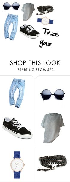 """""""C00L"""" by betulx on Polyvore featuring moda, Vans, Summer, cool ve relax"""