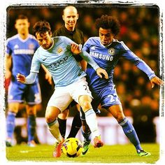Most notable past meetings between Manchester City and Chelsea http://worldsoc.cr/1hETN9L