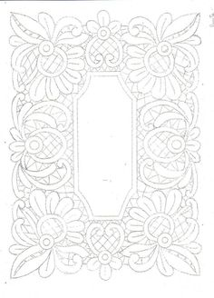 This Pin was discovered by Вал Cutwork Embroidery, Embroidery Stitches, Embroidery Patterns, Crochet Motif, Irish Crochet, Craft Patterns, Quilt Patterns, Romanian Lace, Lace Painting
