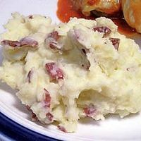 How to Make Healthy, flavorful, low calorie, low fat mashed potatoes thumbnail
